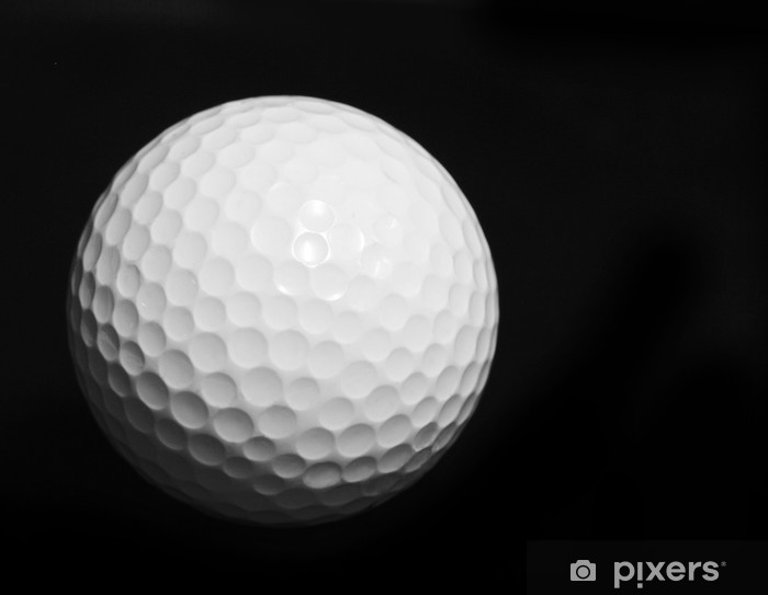 Naklejka Pixerstick Piłka golfowa - Golf