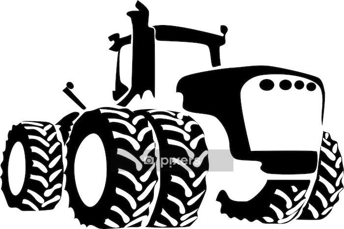 Wandtattoo Traktor Pixers Wir Leben Um Zu Verandern