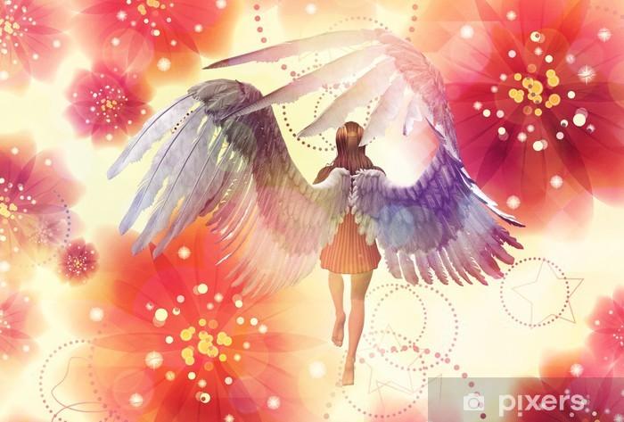 Floral angel Vinyl Wall Mural - International Celebrations