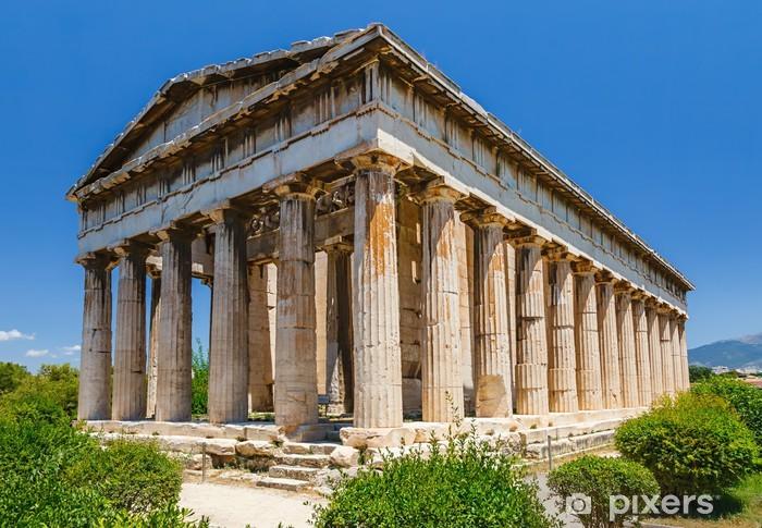 Fototapeta winylowa Świątynia Hefajstosa w Atenach - Tematy