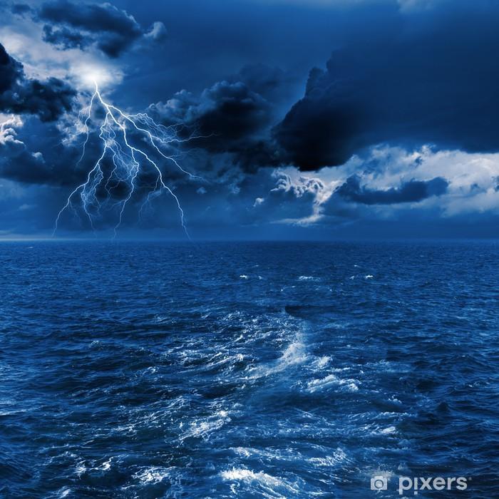 Plakát Déšť v moři - Život