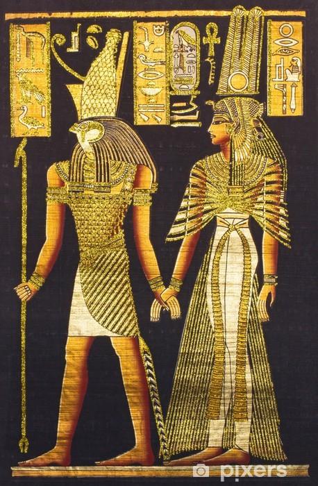 Fototapeta winylowa Czarny egipski papirus - Sztuka i twórczość