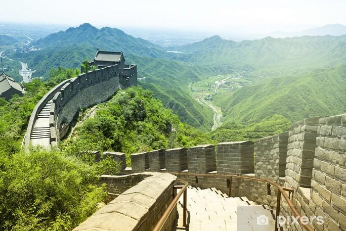 Zelfklevend Fotobehang De Grote Muur van China - Stijlen