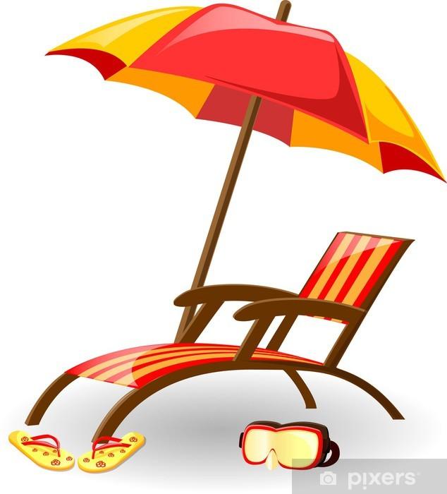 Pixerstick Aufkleber Urlaub Vektor Hintergrund - Urlaub