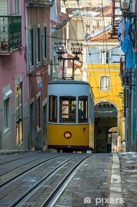 Fototapeta winylowa Podnieś dziobek, Lizbona, Portugalia - Miasta europejskie