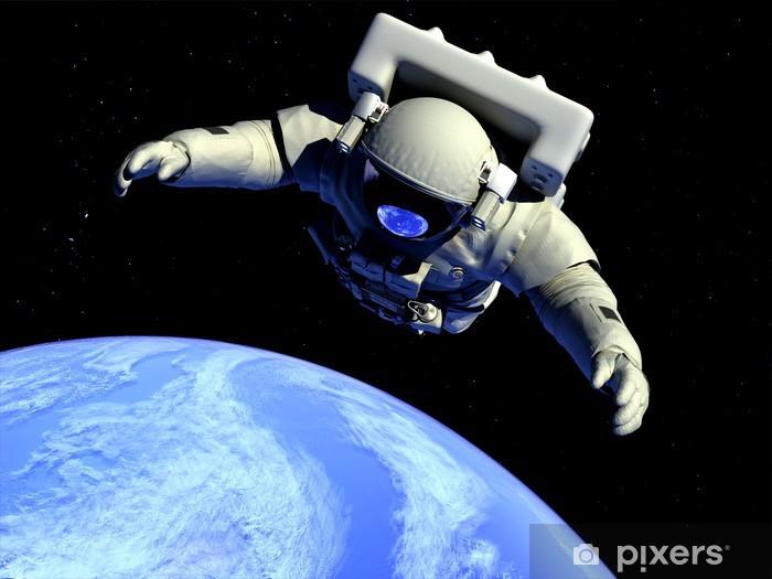 Nálepka Pixerstick Astronaut - Meziplanetární prostor