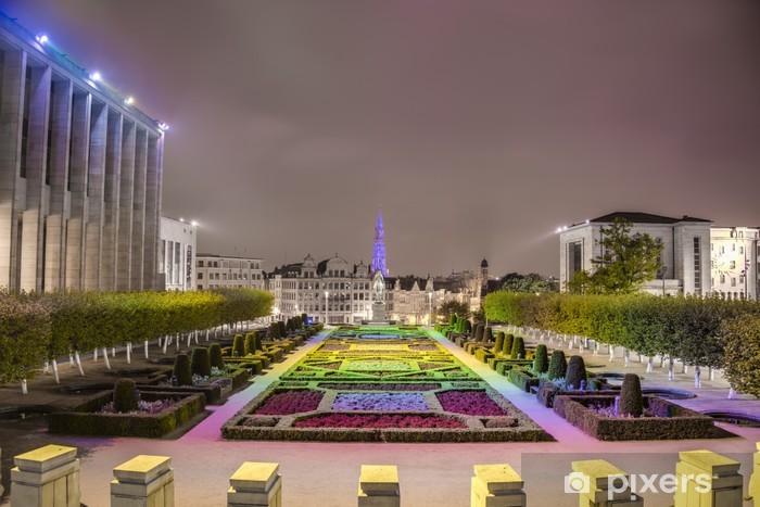 Fototapeta winylowa Mount of the Arts w Brukseli, Belgia. - Miasta europejskie