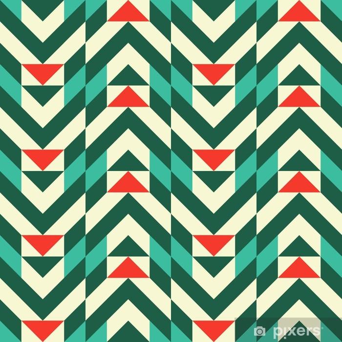 Mural de Parede em Vinil Abstract geometric pattern - Moda