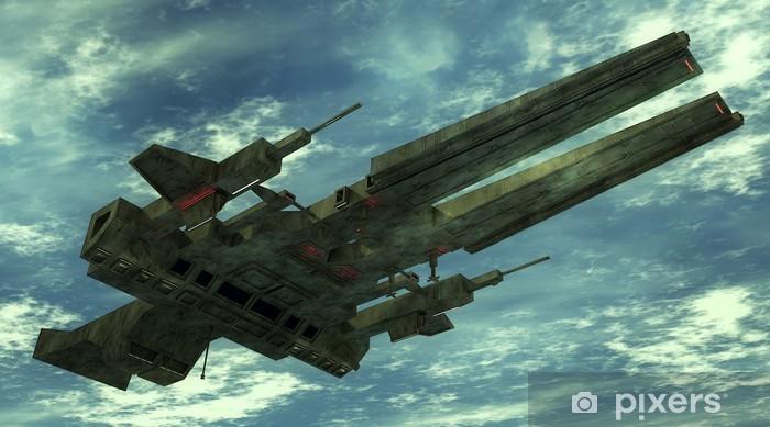 Fototapeta winylowa 3d ufo - Ezoteryka