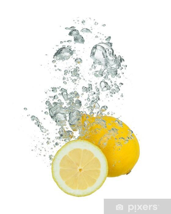 Fototapeta winylowa Świeże cytryny - Naklejki na ścianę