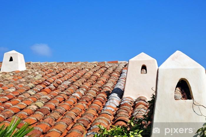 Fototapeta winylowa Costa Smeralda, Sardynia - typowe domy - Europa
