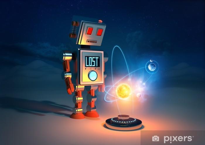 Pixerstick Sticker Robots Have Feelings - Stijlen