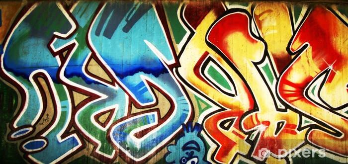 Vinylová fototapeta Urban graffiti stěna - Vinylová fototapeta
