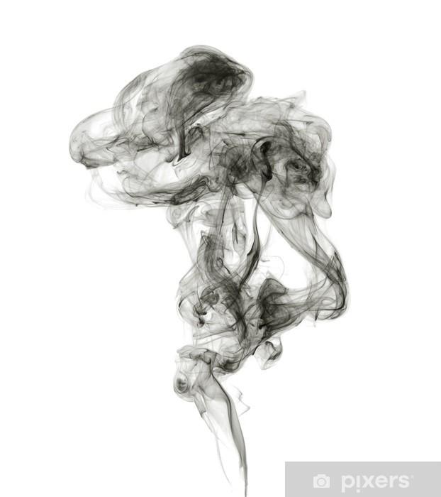 Papier peint vinyle Suie. Fumée noire. - Thèmes