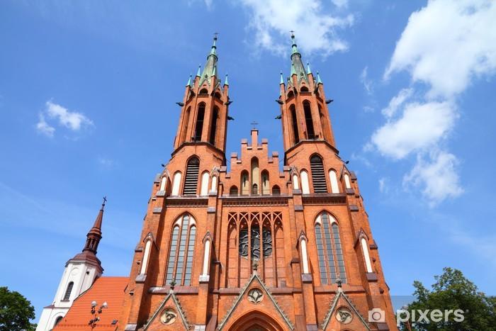 Nálepka Pixerstick Bialystok, Polsko - katedrála - Veřejné budovy