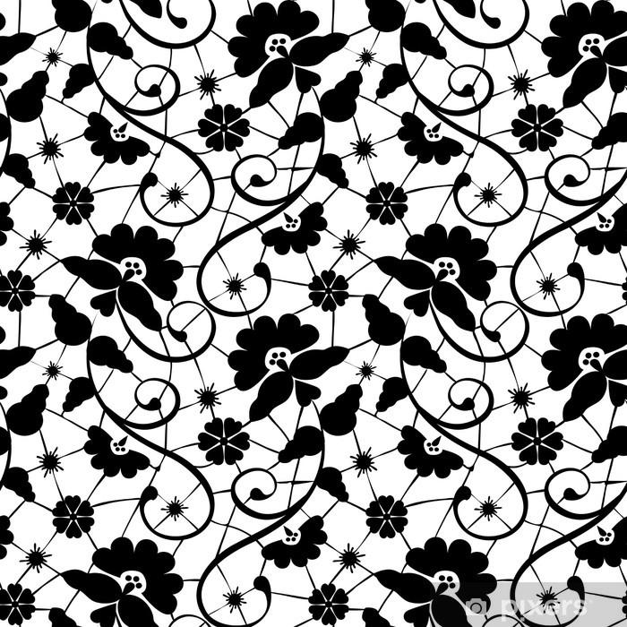 Pixerstick Sticker Zwart kant - Thema's