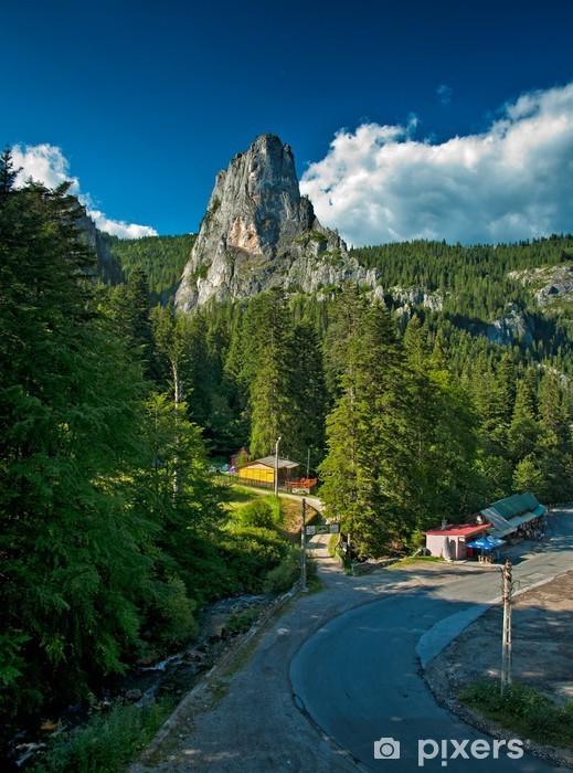 Naklejka Pixerstick Kanion Bicaz, Rumunia - Europa