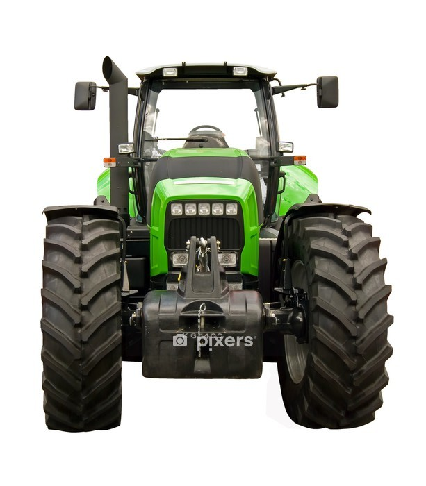 Farm tractor Wall Decal - Wall decals