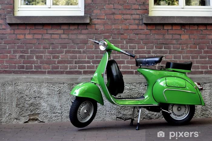 Aufkleber Vespa Px 150vbb Grün Pixerstick