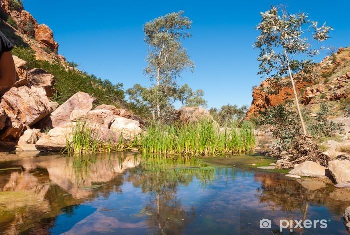 Fototapeta winylowa Simpsons Gap, MacDonnell zakresy, Australia - Tematy