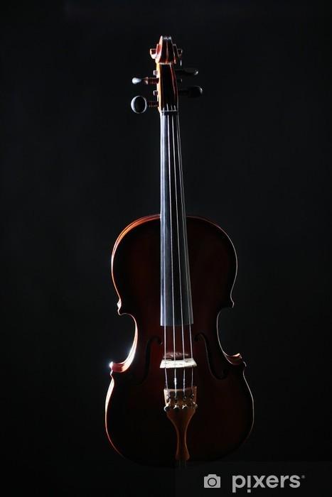 Fototapeta winylowa Orkiestra skrzypce instrumenty muzyczne - Muzyka