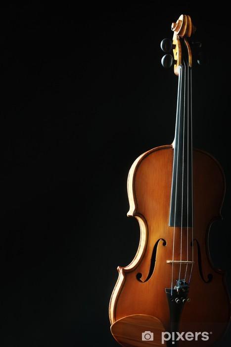 Fotomural Estándar Instrumentos musicales de la orquesta Violín - Música