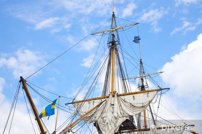 Fototapeta winylowa Szczecin - Tall Ship Races 2013, big starego żaglowca, Polska - Tematy