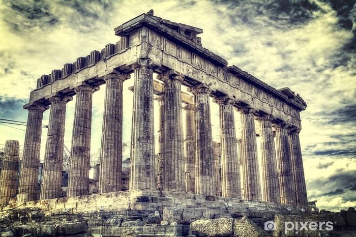 Fotomural Estándar Templo del Partenón en la Acrópolis de Atenas, Grecia - Temas
