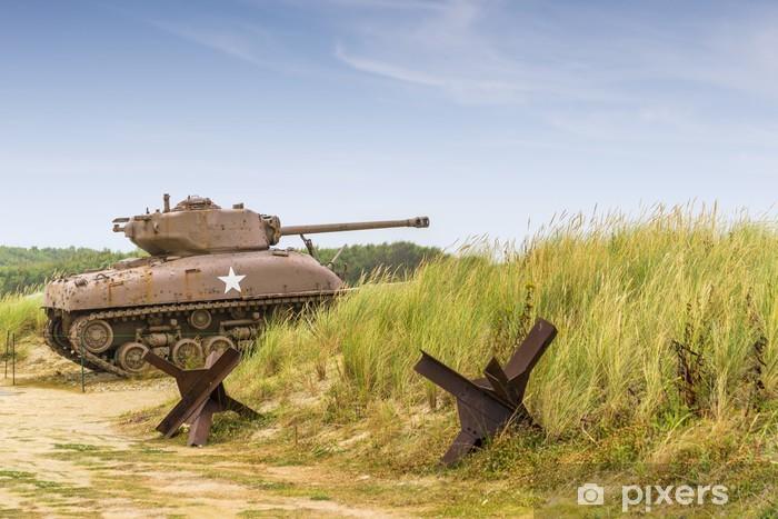 Fototapeta winylowa Sherman Tank - Tematy