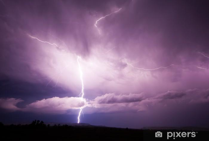 Vinilo Pixerstick Lightning Strike - Desastres naturales