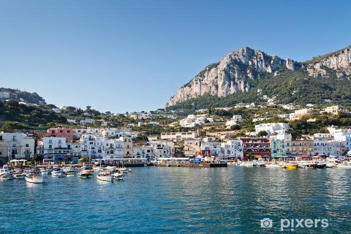Capri, Marina Grande Pixerstick Sticker - Europe