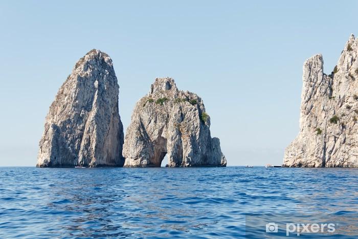 Capri, Faraglioni Pixerstick Sticker - Europe