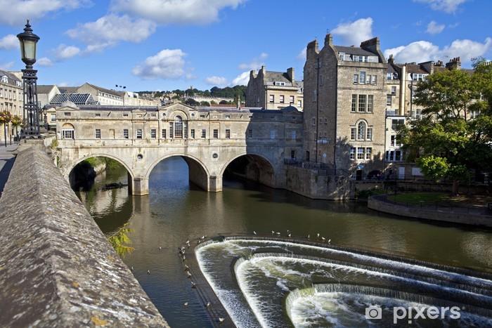 Papier peint vinyle Pulteney Bridge et Weir à Bath - Europe