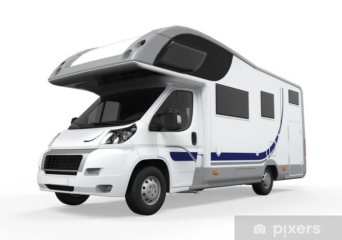 Nálepka Pixerstick Camper Van Isolated - Prázdniny