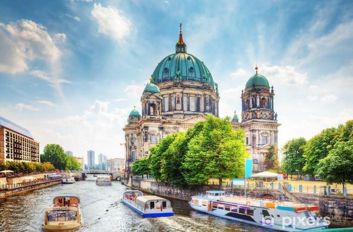 Berlin Cathedral. Berliner Dom. Berlin, Germany Pixerstick Sticker - Germany