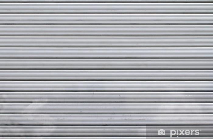 Pixerstick Sticker Metalen gordijn - Texturen