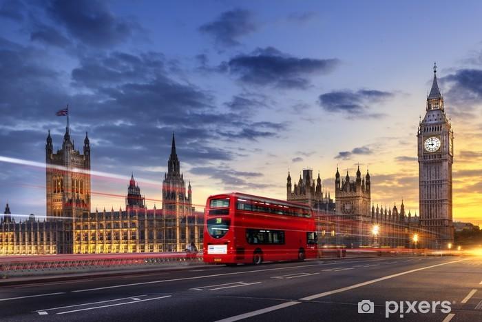 Fotomural Estándar Abadía de Westminster, el Big Ben de Londres - Temas