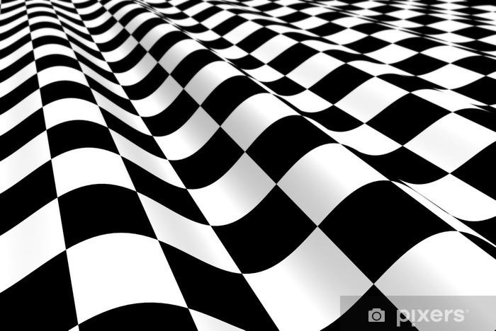 Vinylová fototapeta Černo-bílé letadlo s vlnou - Vinylová fototapeta
