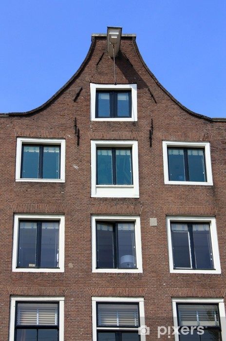 Vinylová fototapeta Amsterdam Canal Domy - Vinylová fototapeta