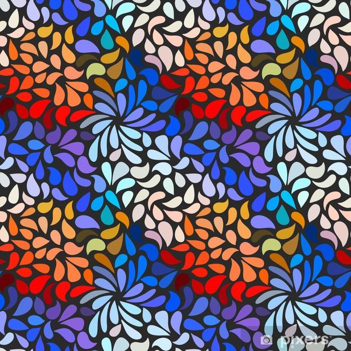 Poster Seamless floral abstrait - Autres sentiments