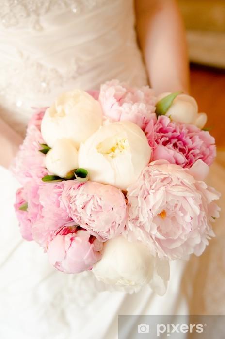 Sposa Con Bouquet.Adesivo Per Tavolino Lack Bouquet Di Nozze Sposa Con Bouquet