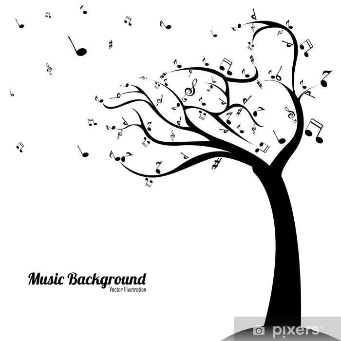 music background Poster - Music