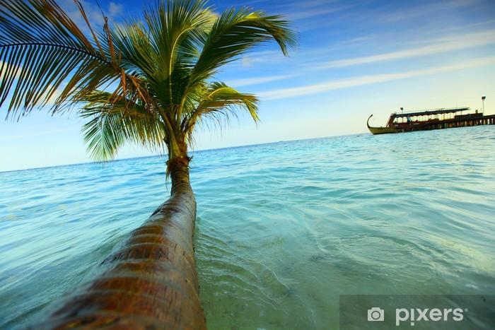 Naklejka Pixerstick Tropikalna wyspa - Wakacje
