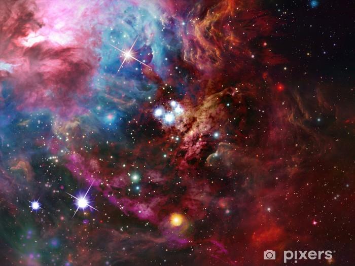 Naklejka Pixerstick Przestrzeń Nebula - Gwiazdy