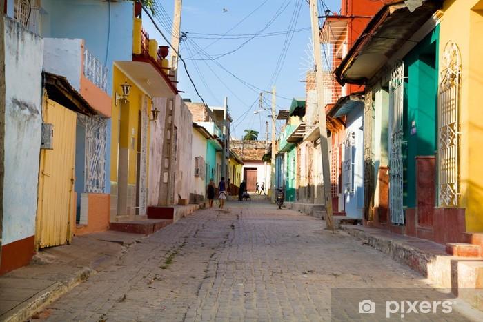 Vinyl Fotobehang Trinidad kleuren - Thema's