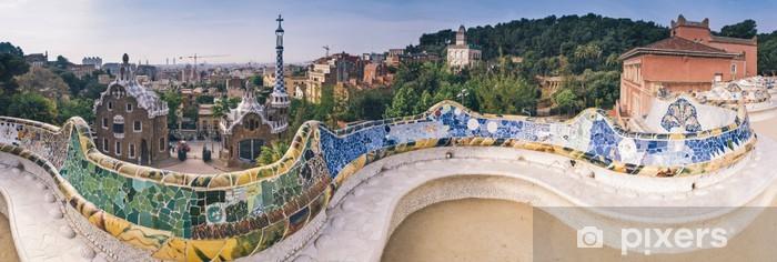 Nálepka Pixerstick Parc Guell, Barcelona - Barcelona