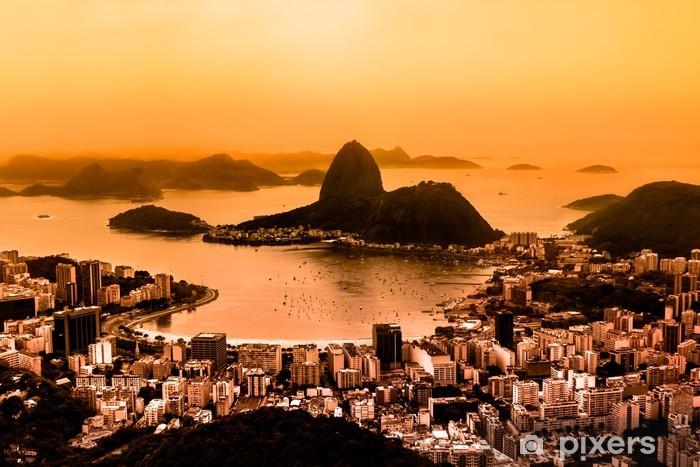 Naklejka Pixerstick Rio de Janeiro, Brazylia - Brazylia