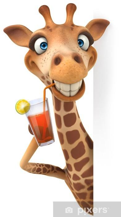Sticker Pixerstick Fun girafe - Signes et symboles