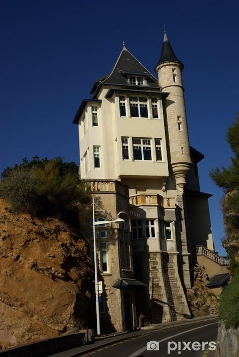 Fototapeta winylowa Bełza Villa w Biarritz - Wakacje