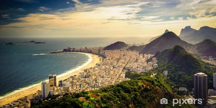 Vinyl Fotobehang Copacabana Beach - Brazilië